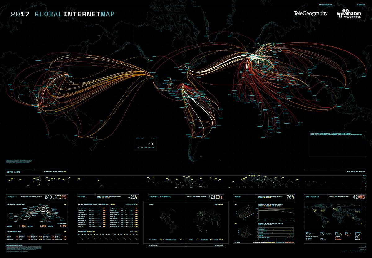 Mapa Global de Internet 2017